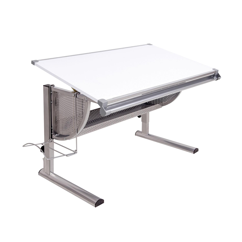 Písací stôl biely