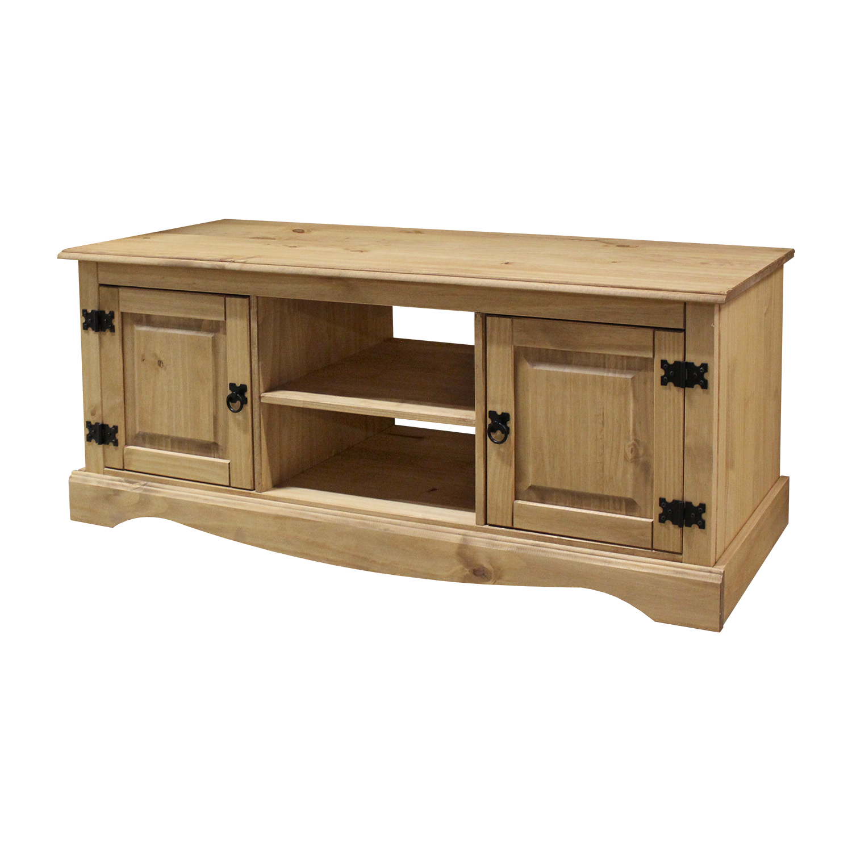 TV stolík 2 dvere CORONA vosk