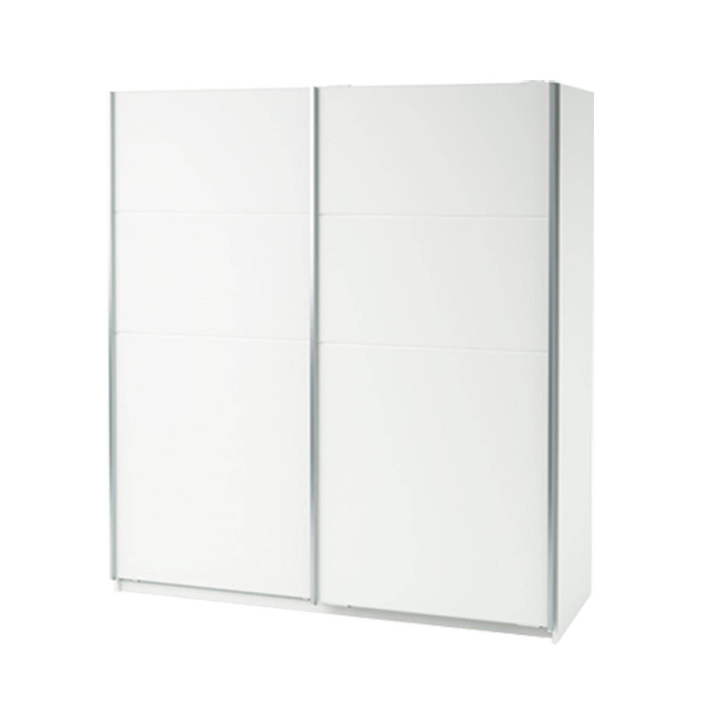 Skříň s posuvnými dveřmi 190580 bílá