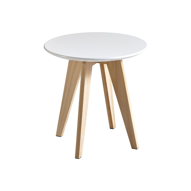 Konferenčný stolík RONDO biely