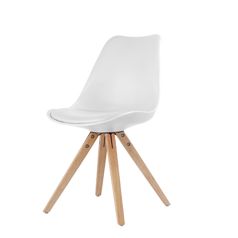 Jídelní židle LADY bílá