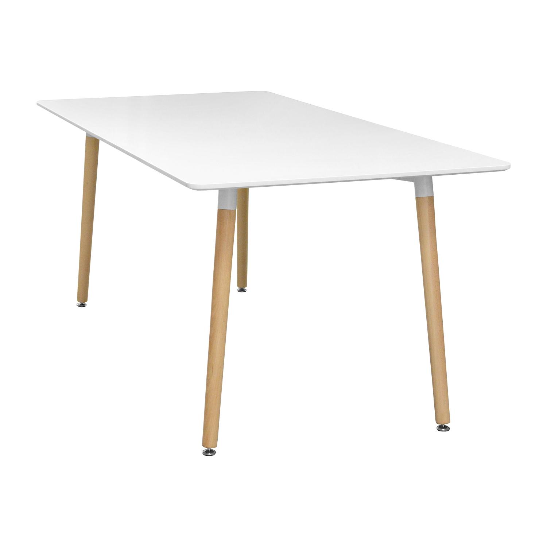 Jídelní stůl 160x90 UNO bílý