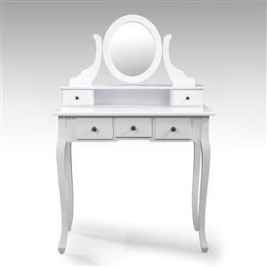 Toaletní stolek se zrcadlem STELLA