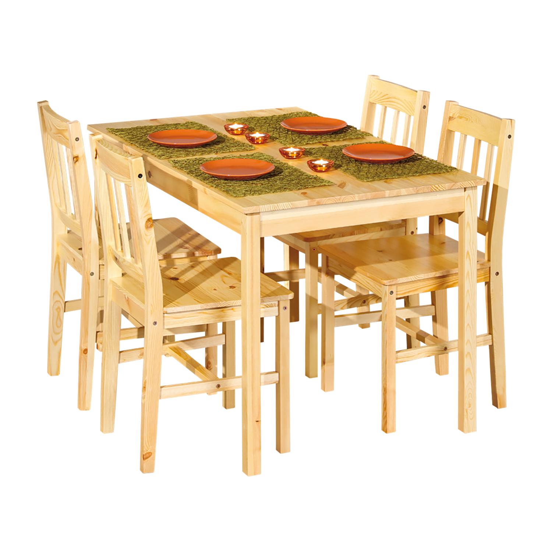 Jídelní stůl 8848 + 4 židle CAROLINO