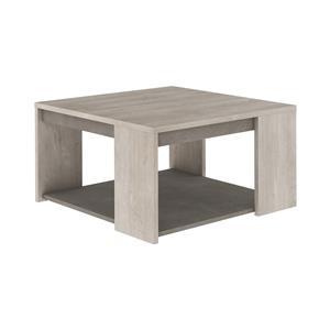 Konferenční stolek ANTIBES dub/béžový beton