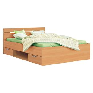f8be4627b918 Multifunkčná posteľ 140x200 MICHIGAN buk