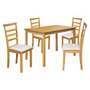Stůl + 4 židle LIVORNO lak javor