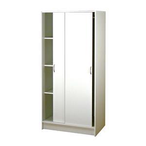 Skříň s posuvnými dveřmi 5223 bílá