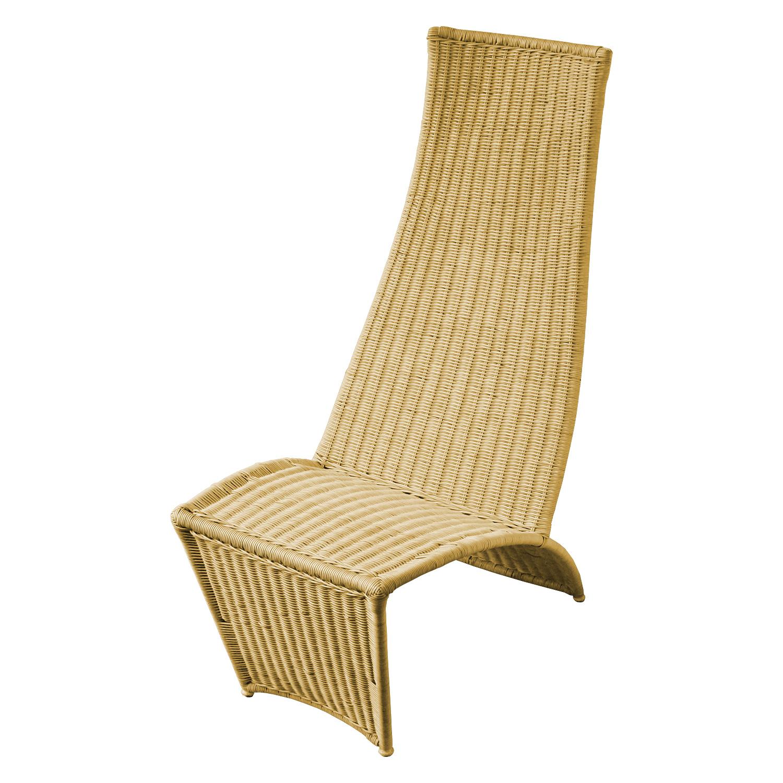 Židle ratan lakovaná