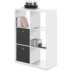 Knihovna MAX 6 bílá