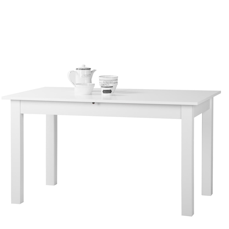 Jedálenský stôl COBURG 120 biely