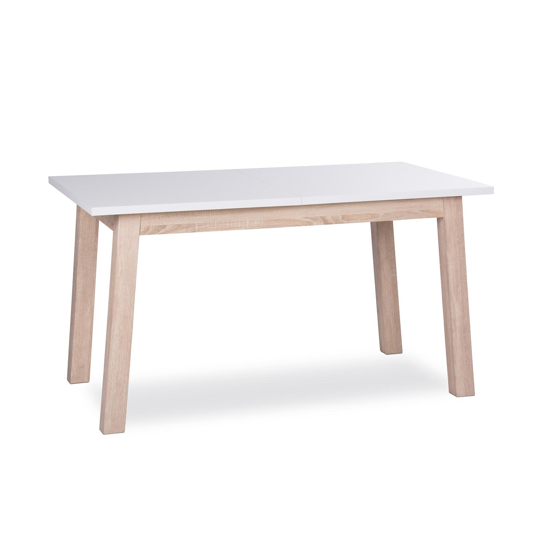 Jídelní stůl APART 7 bílá/dub