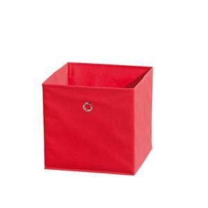WINNY textilní box, červený