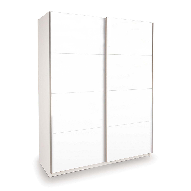Skříň s posuvnými dveřmi DECOR 150 bílá