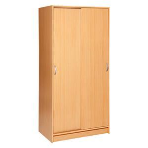 Skříň s posuvnými dveřmi BEST buk