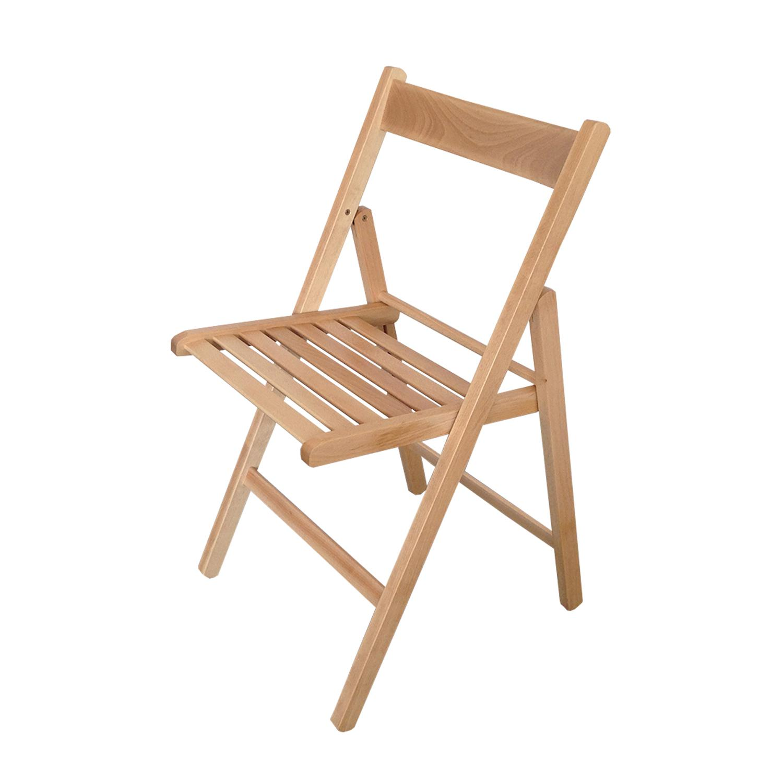 Skládací židle lak