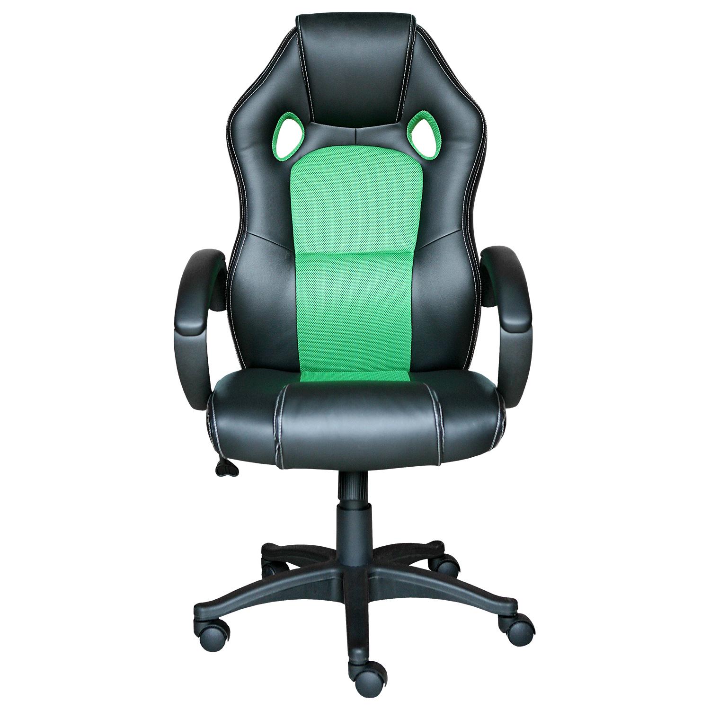 Kancelářské křeslo FORMULA černá/zelená