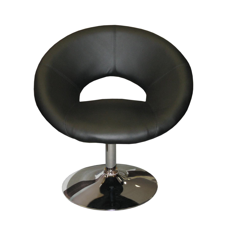 Křeslo MONTE CARLO - černé K95