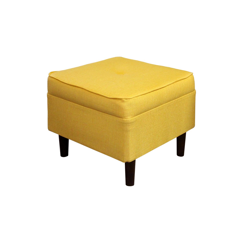 Podnožka QUEEN žlutá