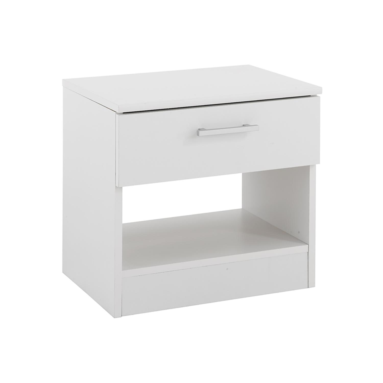 37e4621bc476 Nočný stolík VANITY biely - Nočné stolíky - IDEA Nábytok