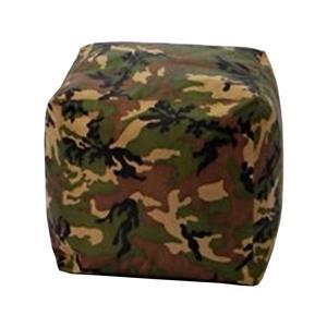 Sedací taburet CUBE army V24