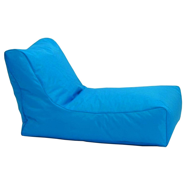 8b604fb2765b Sedacie kreslo LOUNGE modré V2 - Sedacie vaky - IDEA Nábytok