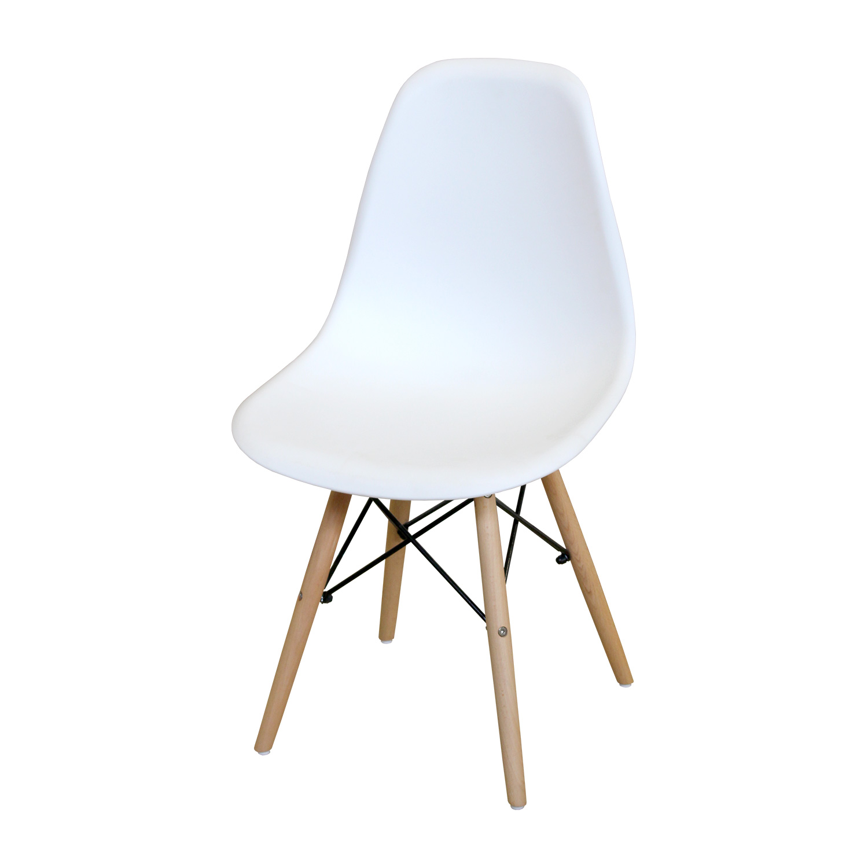 Levně Jídelní židle UNO bílá