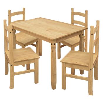 Jídelní stůl 16116 + 4 židle 1627 CORONA 2