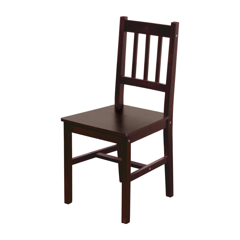 Levně Židle 869H tmavohnědý lak